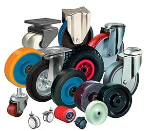 Разные виды колес